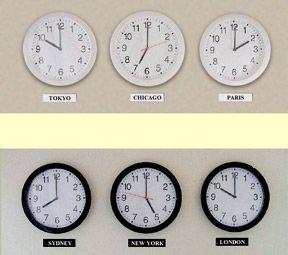 multi time zone clocks school room Pinterest Time zone