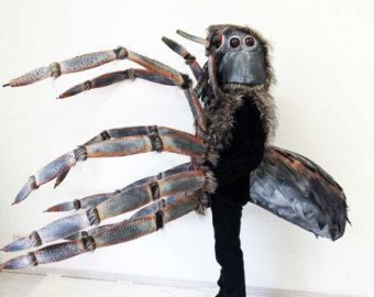 Realistic Spider Insect Costume. ADULT SIZE. Handmade Halloween costume men. Voice changer. - Edit Listing - Etsy