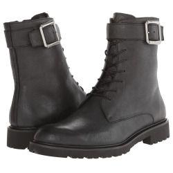 Mens Boots Calvin Klein Jeans Axel Black Tumbled Buffalo