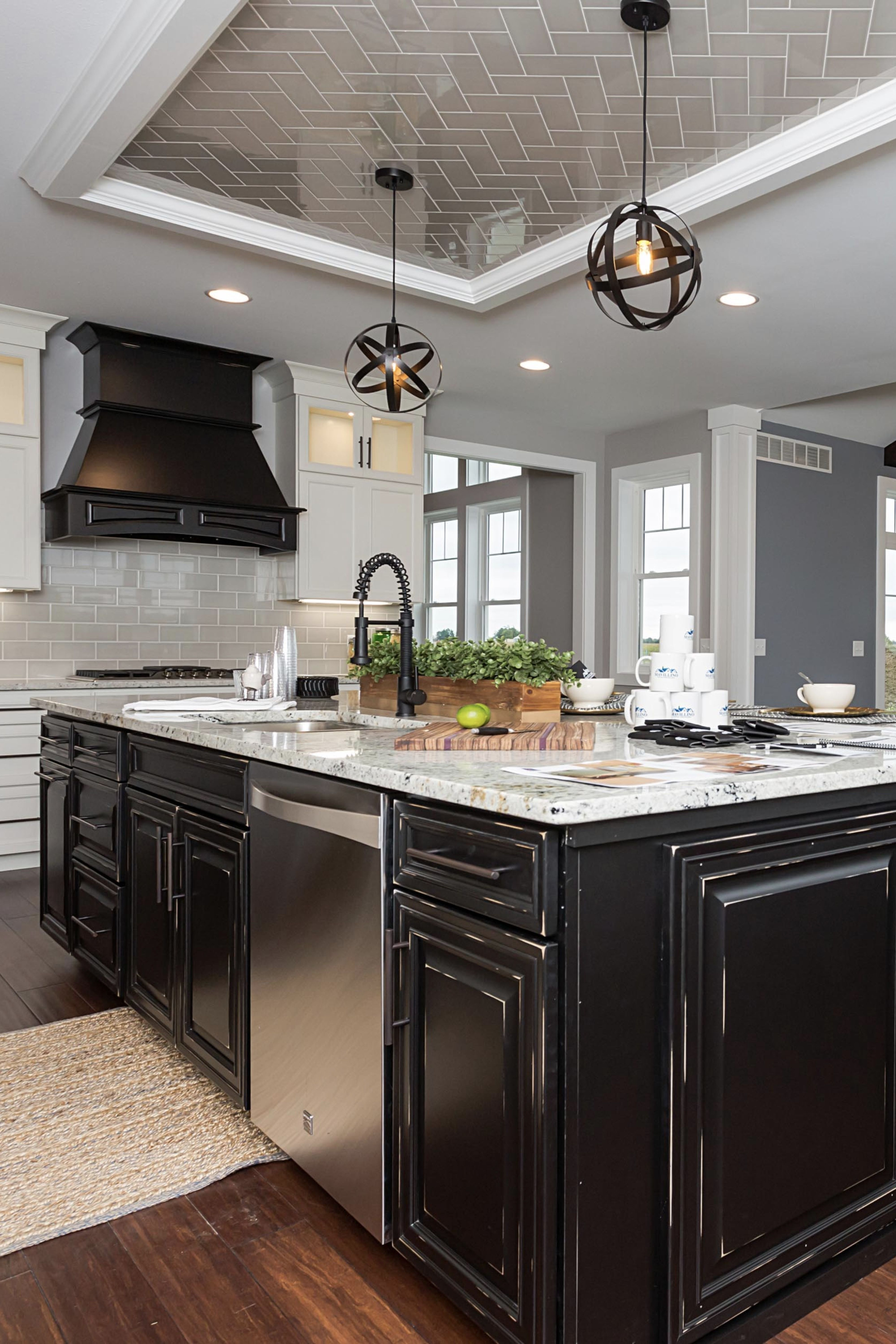 Nothing Says Rustic Quite Like Our Ebony Rub Through Cabinets In This Grand Two Toned Kitchen Online Kitchen Cabinets Kitchen Cabinets Cabinets Online