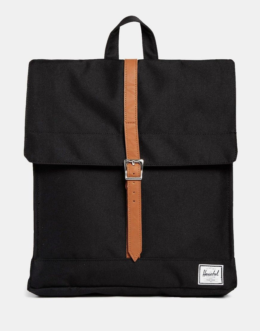 Image 1 of Herschel Supply Co City Backpack in Black bc135cbb996ef