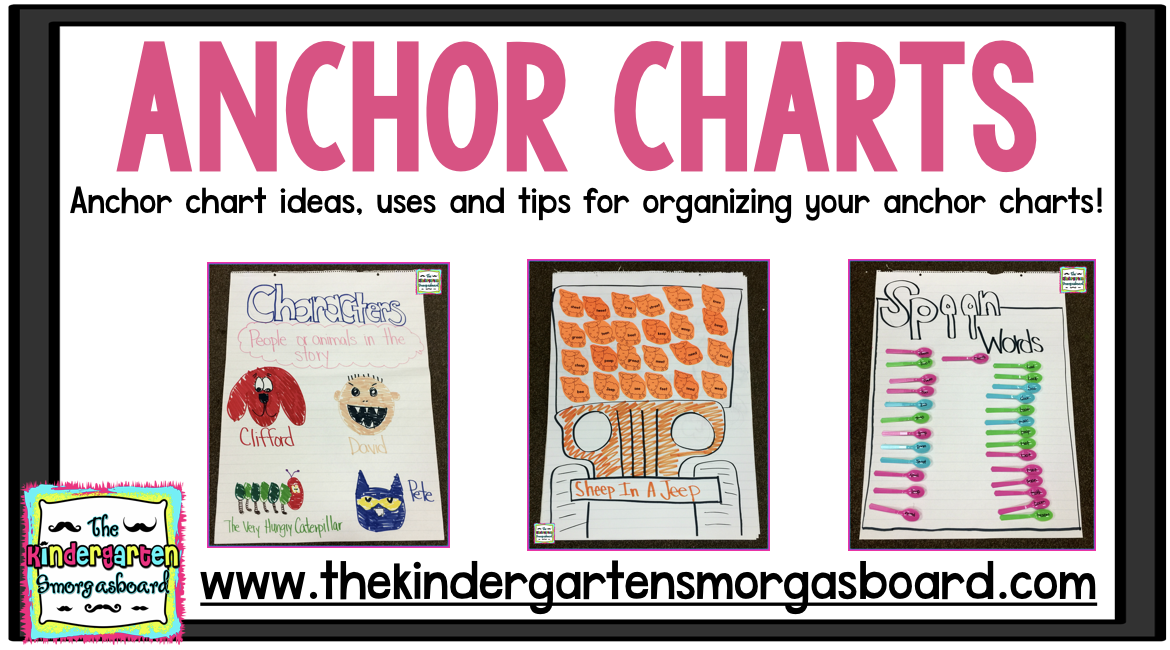 Anchor Charts Ideas Tips And Tricks  Kindergarten Smorgasboard