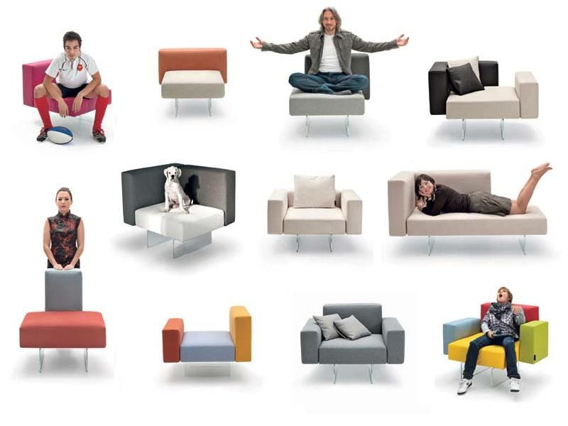 Different Ways To Sit Down: Whatu0027s Yours? #lago #design #sofa #