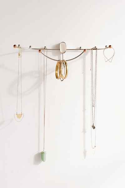 Beth Curved Hanging Jewelry Organizer Hang jewelry Dorm room and Dorm