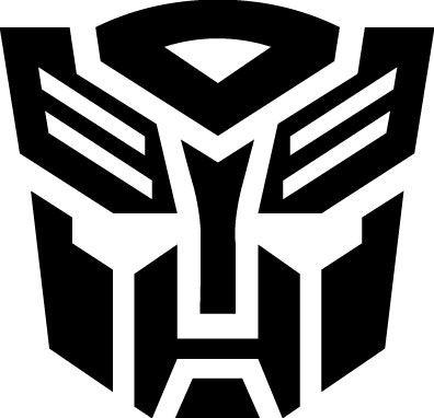 Car Window Sticker Die Cut Vinyl Decal Transformers Logo Autobot Symbol