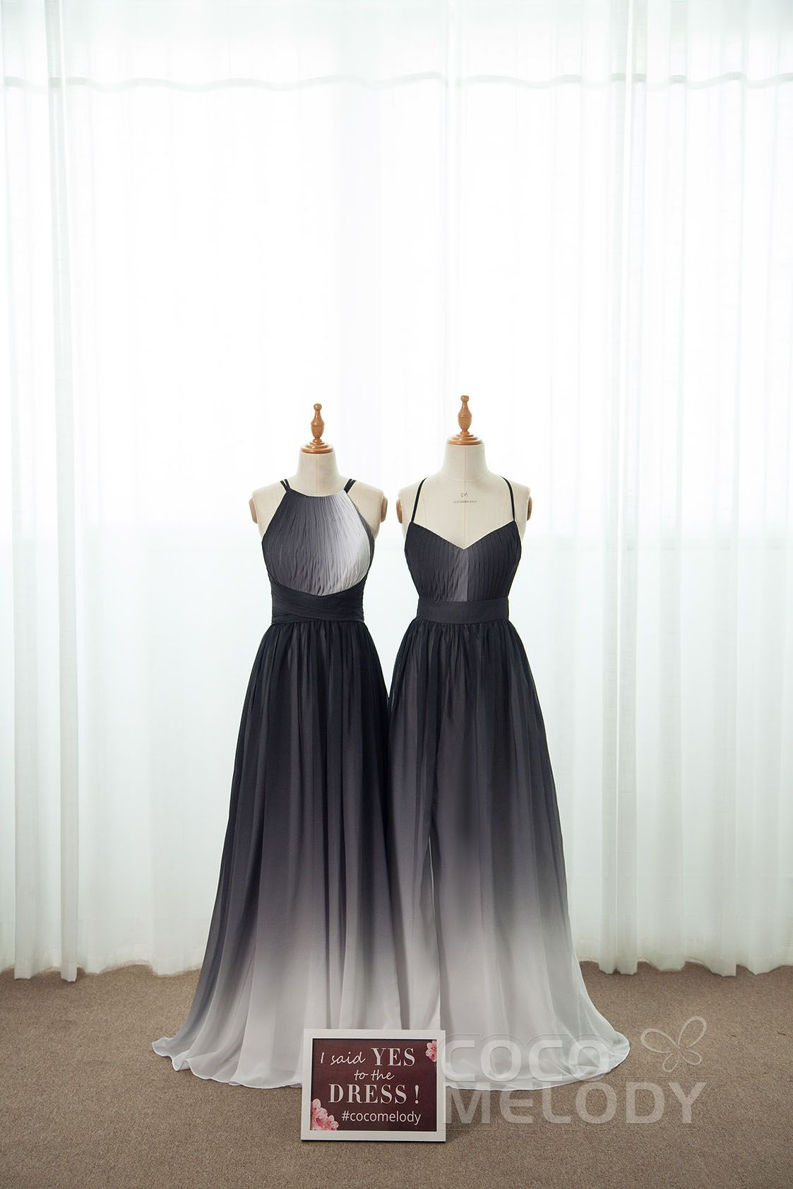 Black Ombre Shade Bridesmaid Dresses For Your Maids All Sizes And Customization Option Bridesmaiddresses Blac Ombre Bridesmaid Dresses Dresses Bridesmaid [ 1685 x 1123 Pixel ]