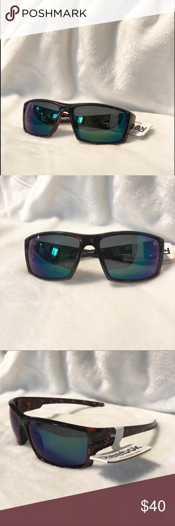 6a0abadb0b Polarized Sunglasses Polarized sunglasses by Reebok. Tortoise shell frames.  NWT. Reebok Accessories Sunglasses
