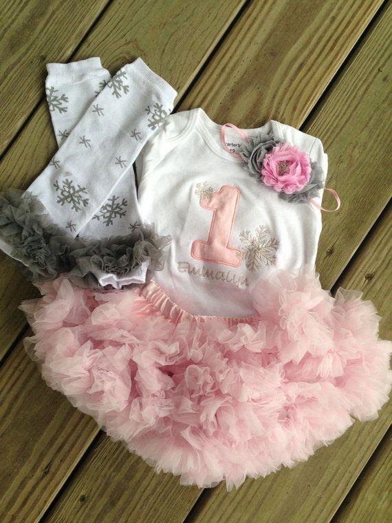 Melissa Squires Newman Winter ONEderland Birthday Outfit Wonderland By CEBowtique 5000
