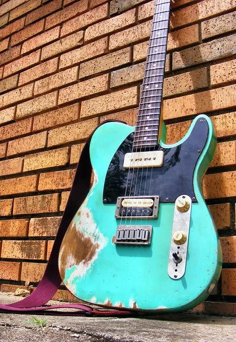 relic 39 d seafoam green telecaster music gear guitar fender telecaster music. Black Bedroom Furniture Sets. Home Design Ideas