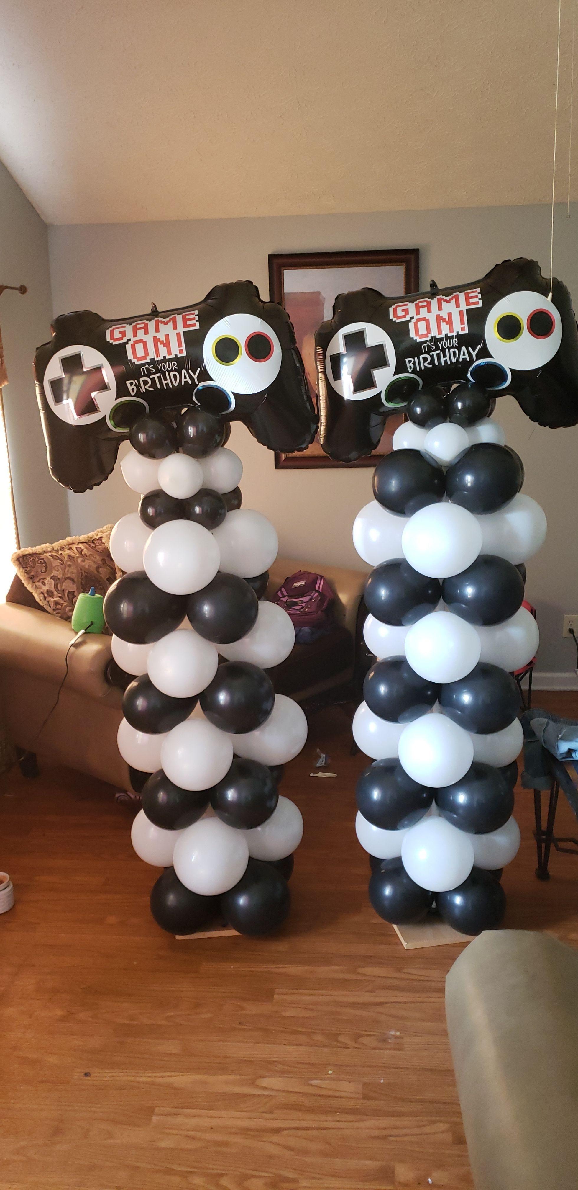 Game Controller Balloon Columns