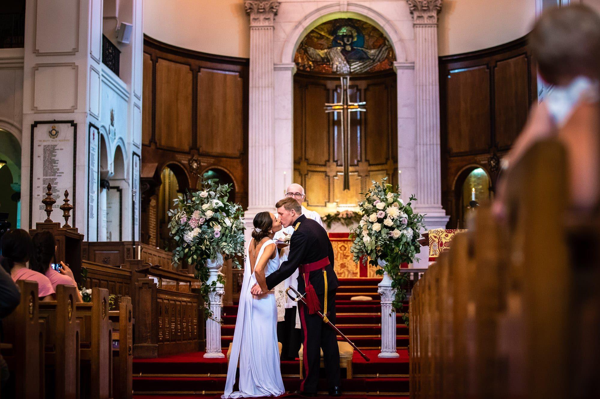 RMA Sandhurst Wedding Photographers Tansley Photography