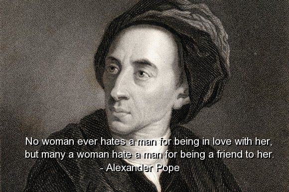 Alexander Pope Quotes Sayings Relationships Love Friends