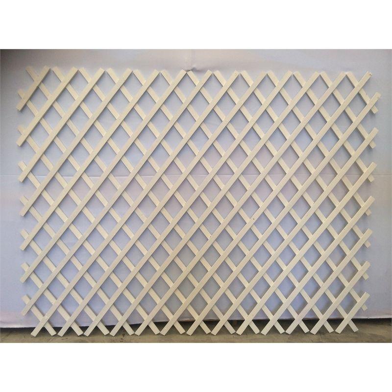 Premier Lattice 1800 X 1200mm White Painted Hardwood Expanding Trellis I N 3045479 Bunnings Warehouse White Paints Expanding Trellis Trellis