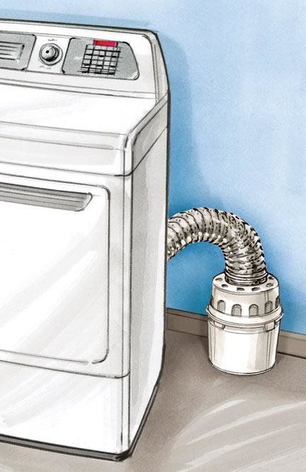 View Larger Image Of Indoor Dryer Vent Kit   E5845