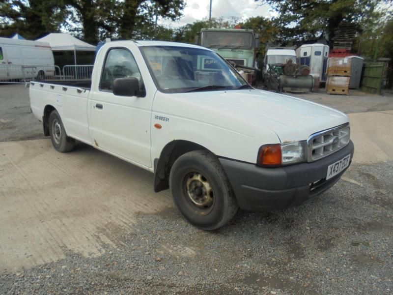 Ford Ranger 2 5d 4x2 2000my Regular Cab 1 Tone Pick Up Ford