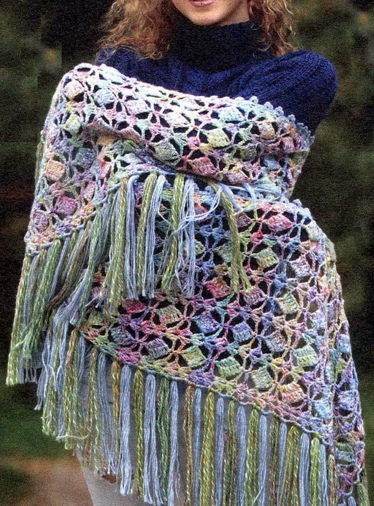 Stylish Easy Crochet Crochet Shawl Wrap Pattern Beautiful Stitch