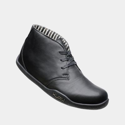 aalto chukka boot jet black leather  most comfortable
