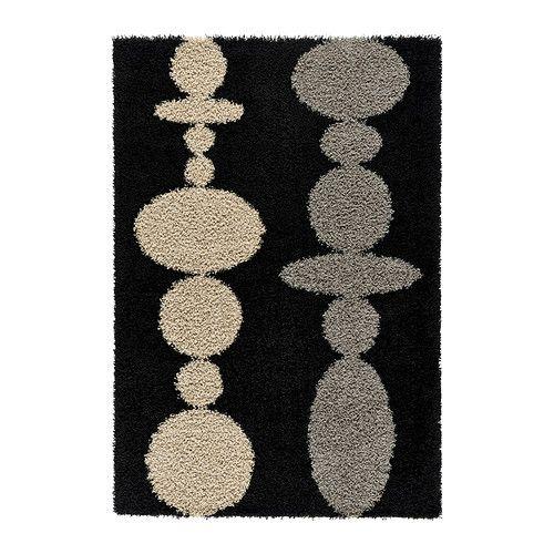 hinnerup tapis poils hauts ikea ce tapis en fibres. Black Bedroom Furniture Sets. Home Design Ideas