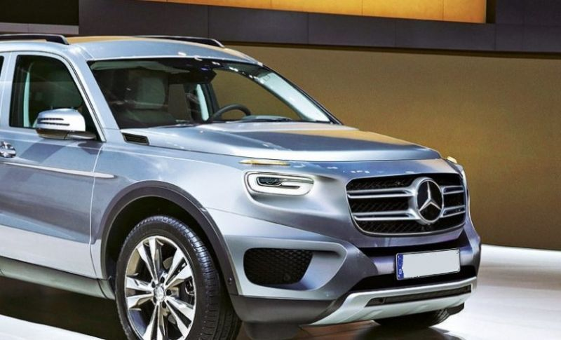 2019 Mercedes Benz Glb Caught Camouflaged With Images Suv