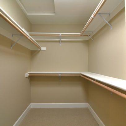closet ideas for small walk in closets | Small Walk-in ...