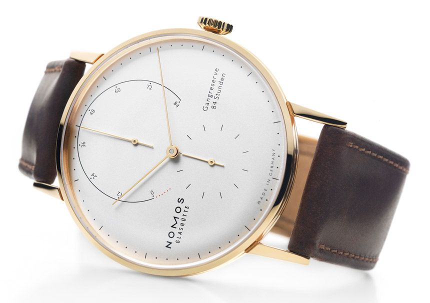 Nomos Lambda Watch Is New Higher-End Offering From German Brand