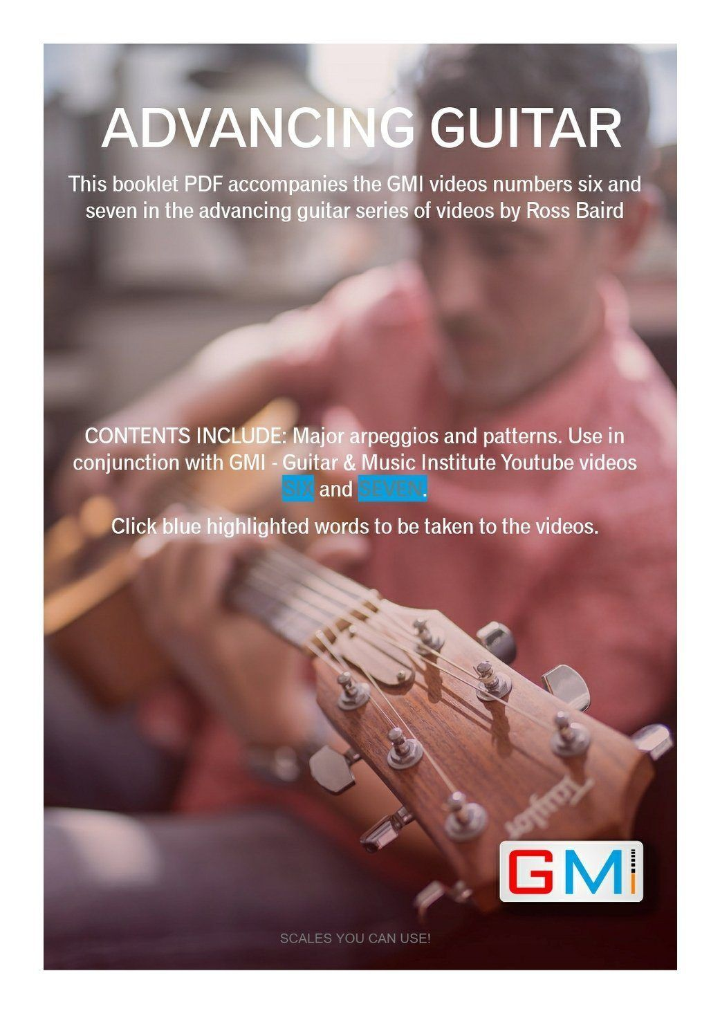 Advancing Guitar Course Supporting Pdf Book By Ross Baird Music