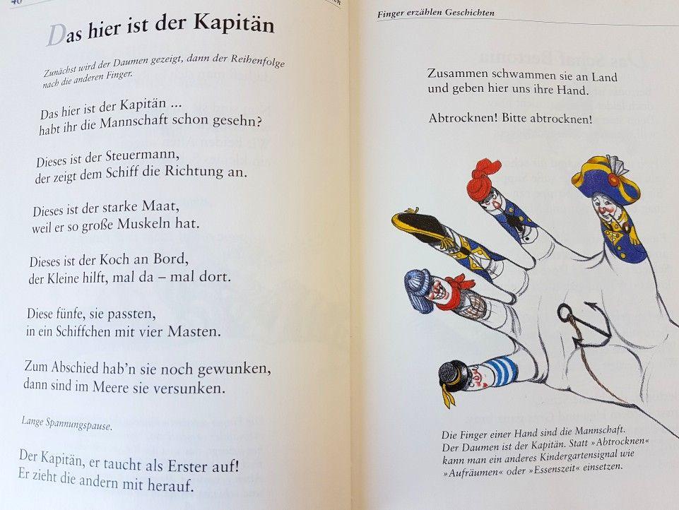 Das Hier Ist Der Kapitan Fingerspiel Krippe Kita Kindergarten Kind Reim Gedicht Erzieherin Erzieher Fingerspiele Piraten Kindergarten Kinder Reime