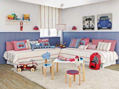 habitaciones-dobles-9   Kids room   Pinterest   Habitación doble ...