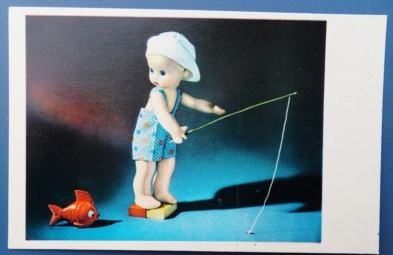 Открытки с куклами советские