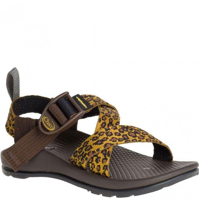 9517d45c999a58 J180200 Chaco Kids Z 1 Ecotread Sandals - Leopard www.bootbay.com ...