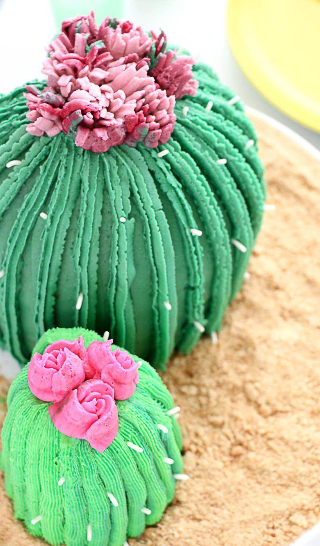 DIY Cactus Cake using the Wilton Easy Blooms Tip Set! - joann.com