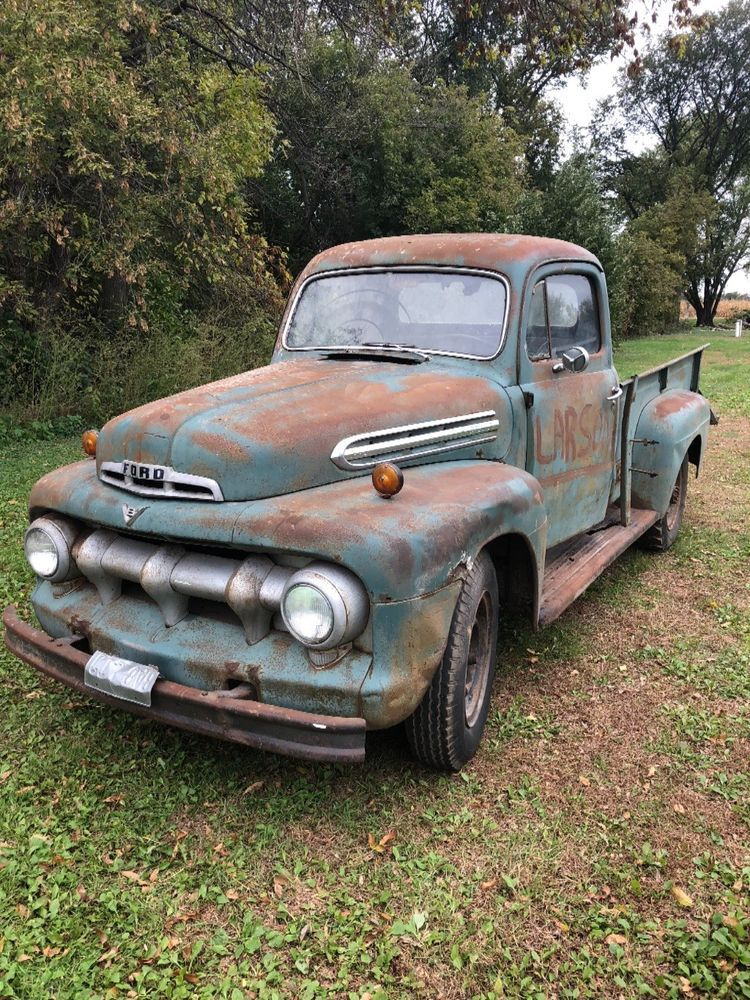 1951 Ford Other Pickups 1951 Ford Pickup Rat Rod F1 F2 F3 1948