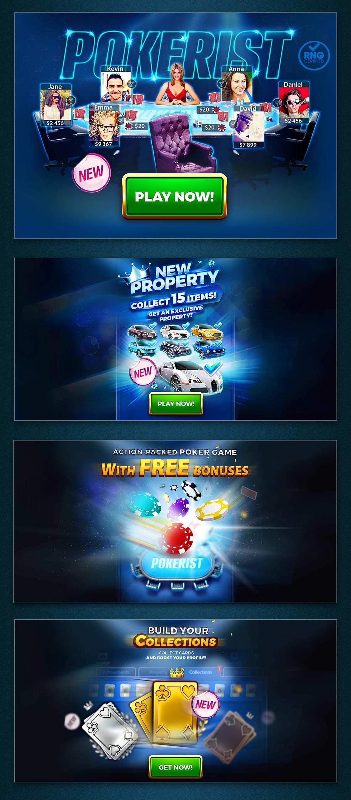 Poker promo banner | Banner ad contest | 99designs