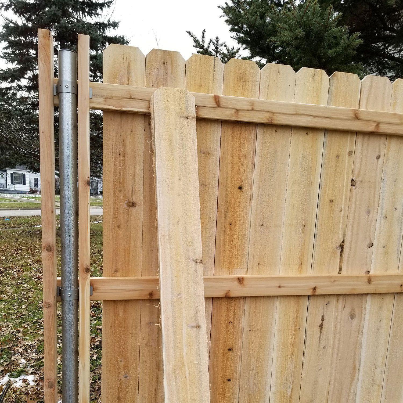 Western Red Cedar Dog Ear Wood Fence Picket Cedar Dog Ear Fence Picket Red Cedar Dog Ear Fence Pi In 2020 Cedar Fence Pickets Cedar Fence Cedar Wood Fence