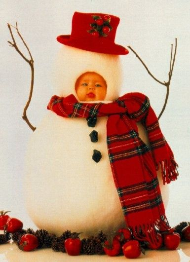 Sødt snebarn :-)