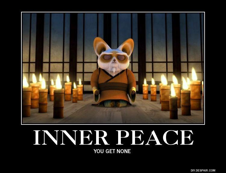 Inner Peace Master Shifu Kung Fu Panda Inner Peace