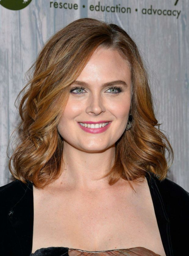 Emily Deschanel at the 2015 Farm Sanctuary Gala. http://beautyeditor.ca/2015/11/04/best-beauty-looks-lea-seydoux