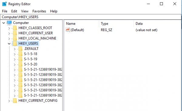This Post Shows How To Modify The Registry Setting Of Another User Without Logging In Using The Command Prompt Generally Speaking I Users Registry Windows 10