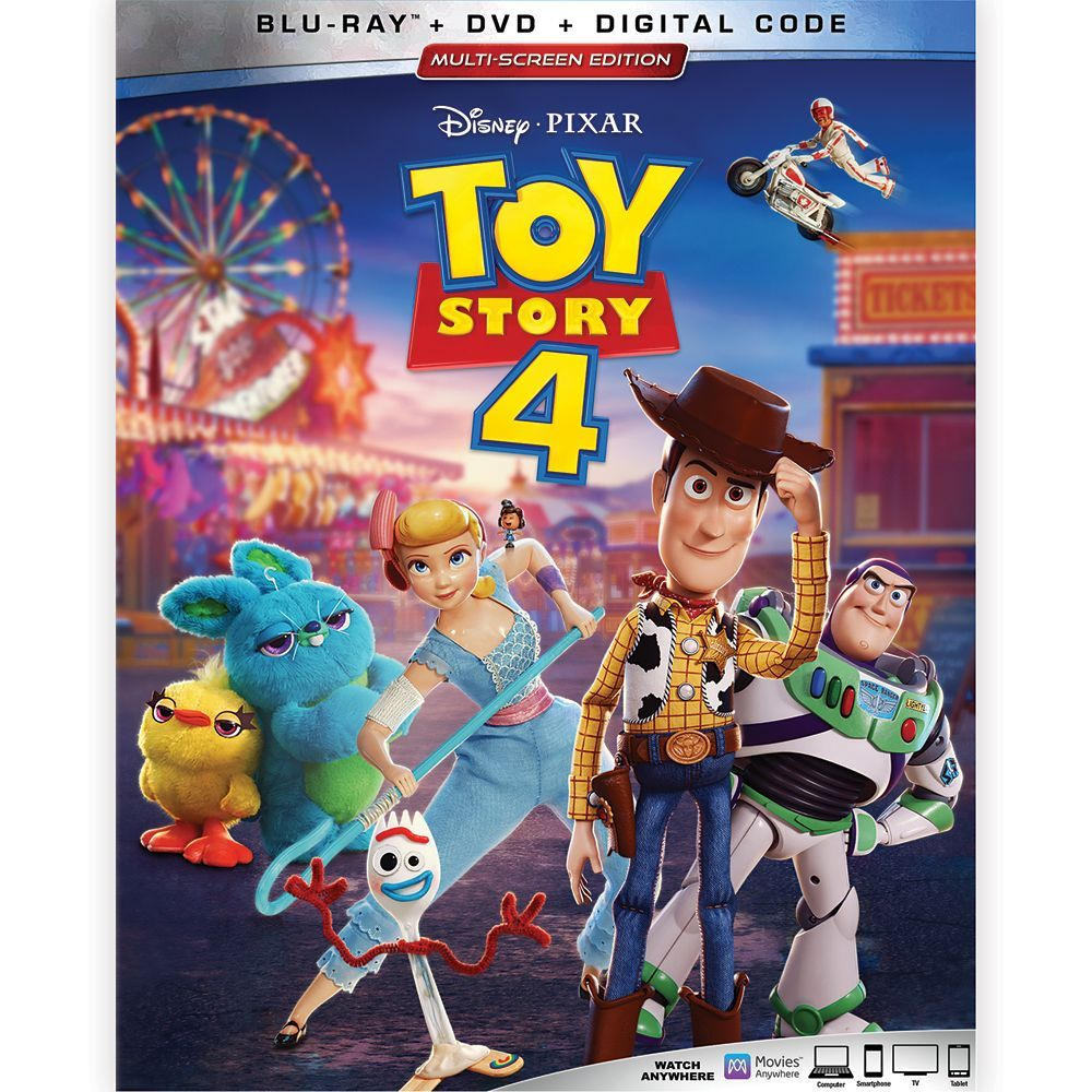Toy Story 4 Blu Ray Combo Pack Multi Screen Edition Shopdisney Toy Story Toy Story Series Bonnie Hunt