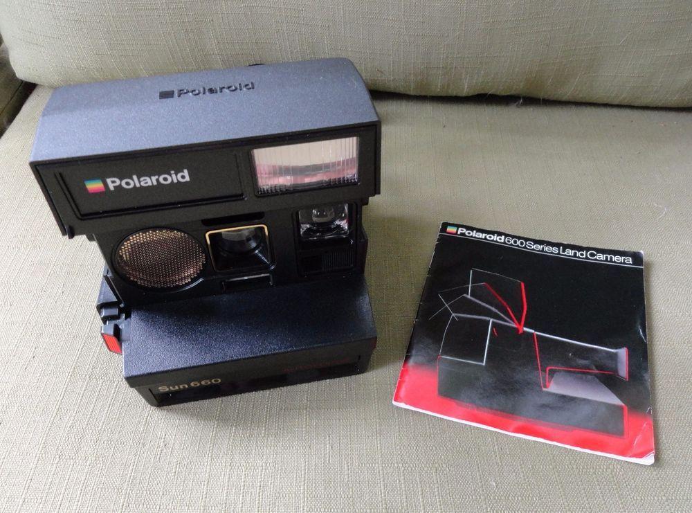polaroid sun 660 auto focus camera working condition with rh pinterest com polaroid sun 660 manual polaroid sun 660 manual
