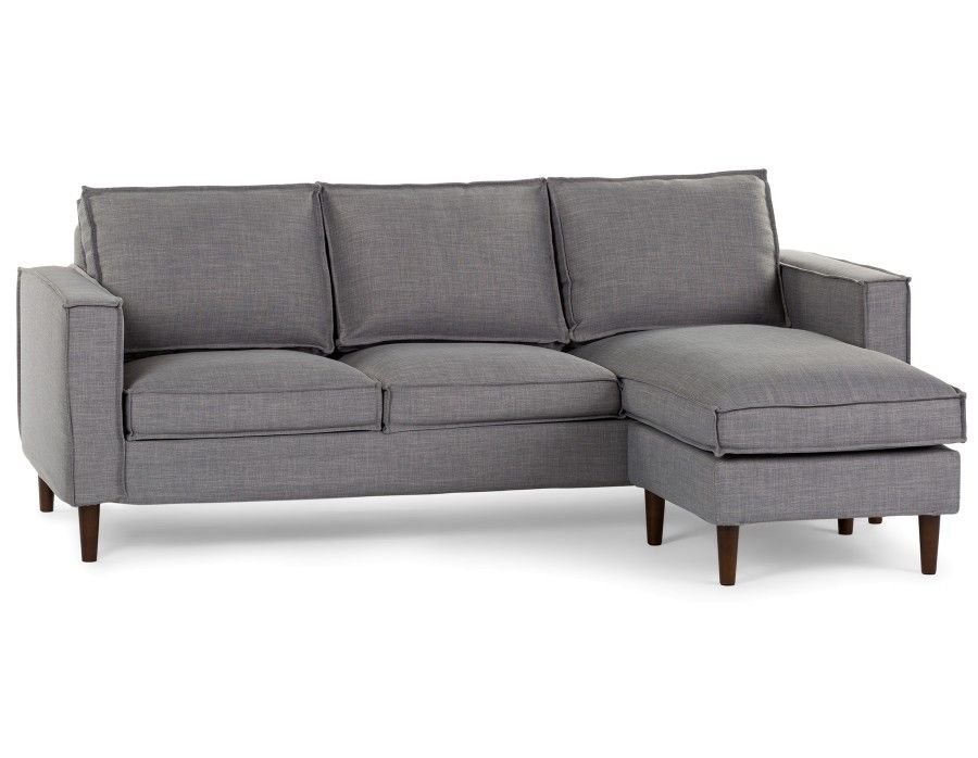 599 York Interchangeable Sectional Sofa Light Grey