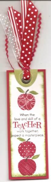 Teacher's bookmark