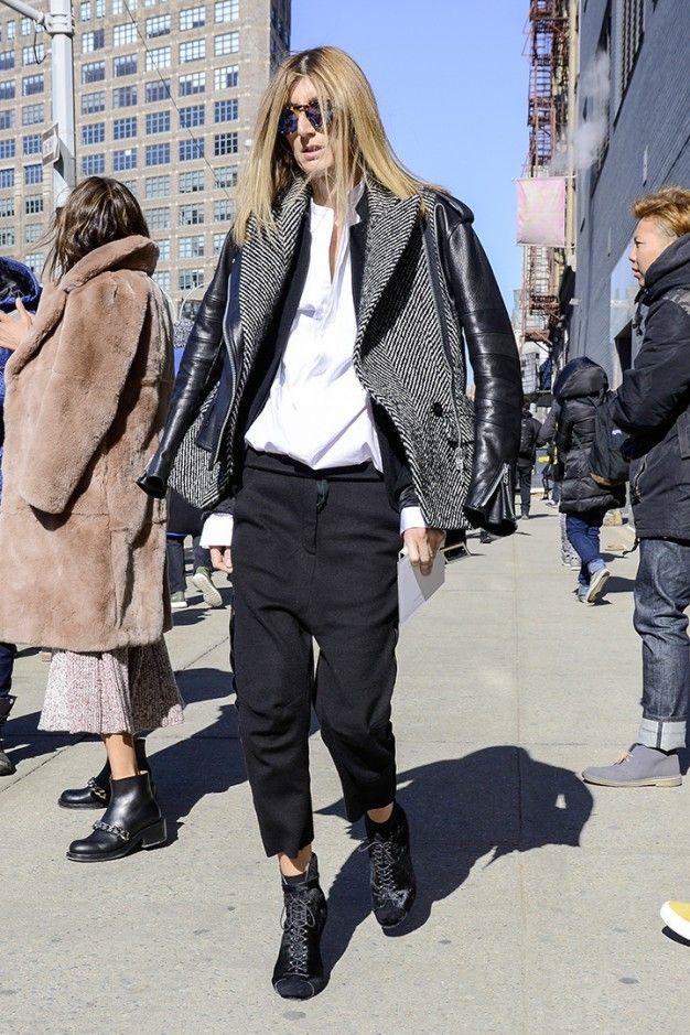 winter street style NY