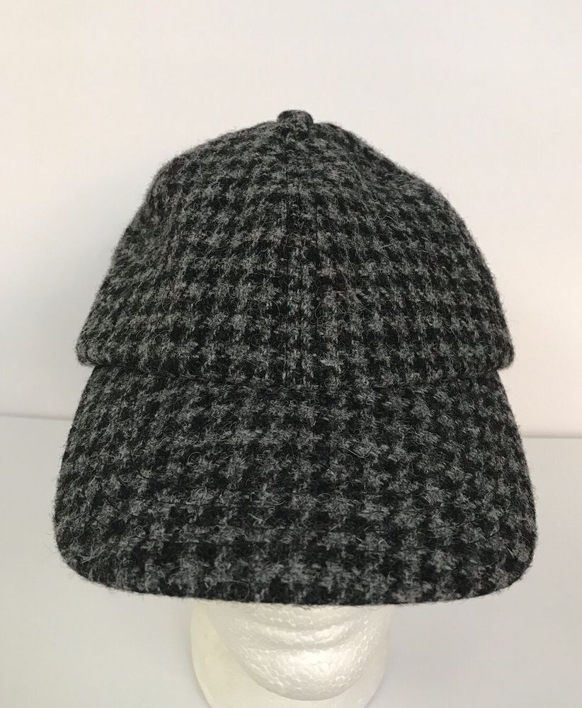 3086fa8ed4a17 Brand New LL Bean Harris Tweed Wool Gore-Tex Men s Baseball Style Cap Hat   LLBean  BaseballCap