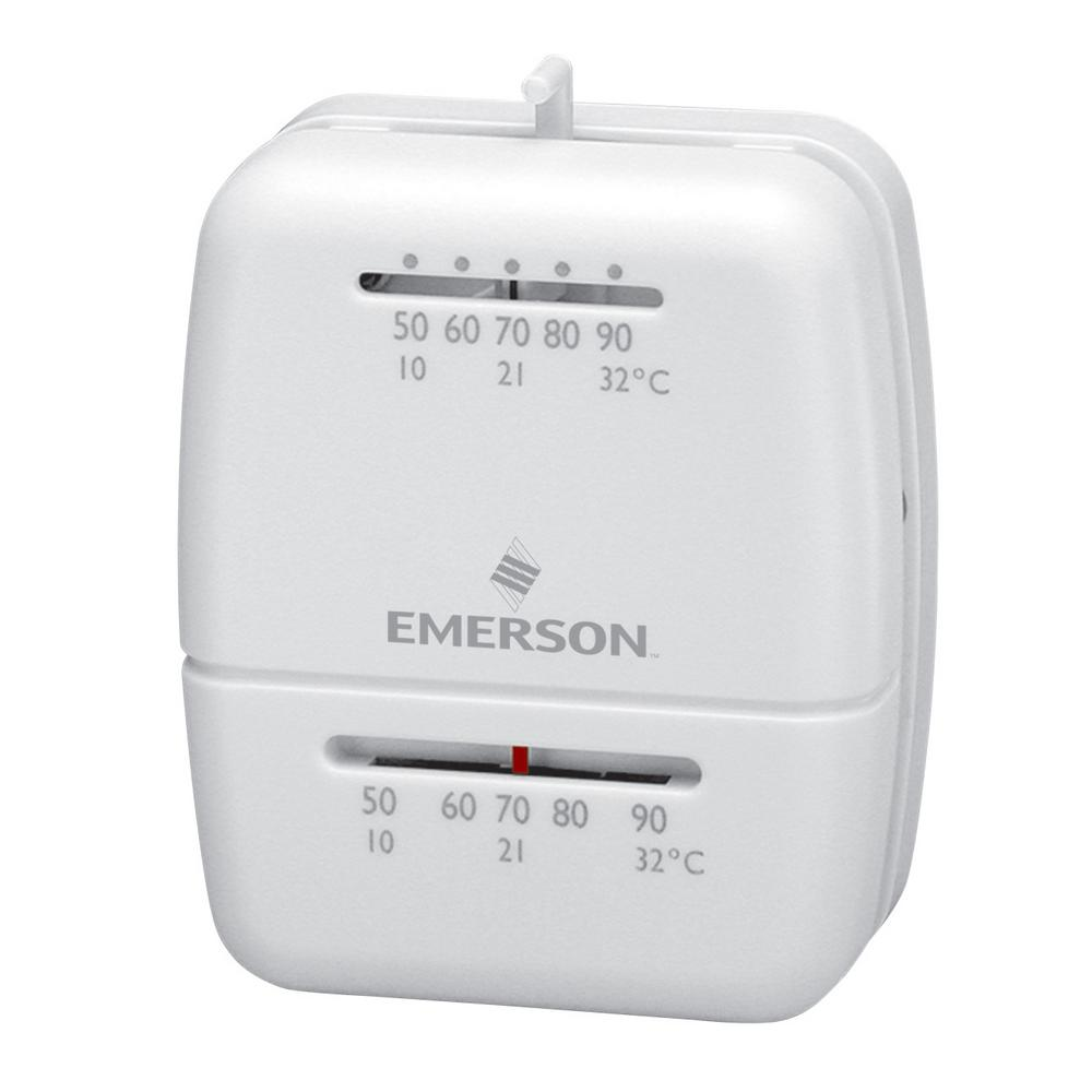 Emerson Mechanical Heat Only Thermostat 1c20 102 Home