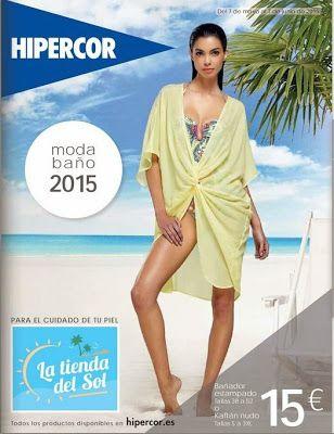 a797fa013387 Nuevo Catalogo de Hipercor Moda Baño 2015 | Trajes de Baño | Trajes ...