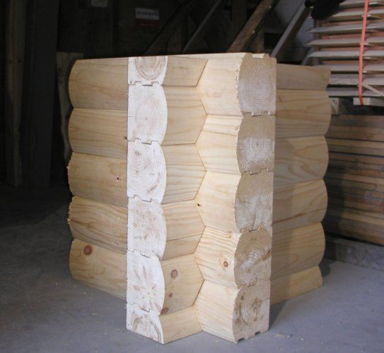 8x8 Round Flat D Logs Saddle Notch Corner Log Homes Log Home Kits Log Cabin Kits
