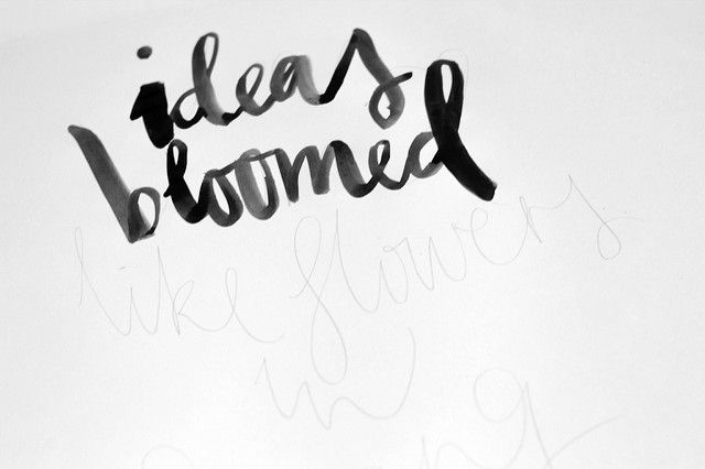 More hand lettering and brush lettering tutorials round up on