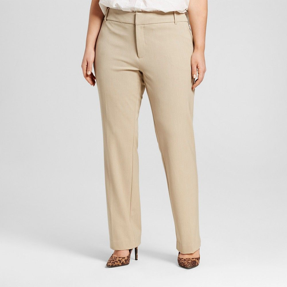 top-rated latest top-rated newest fast delivery Women's Plus Size Career Pant | Products | Plus size khaki ...