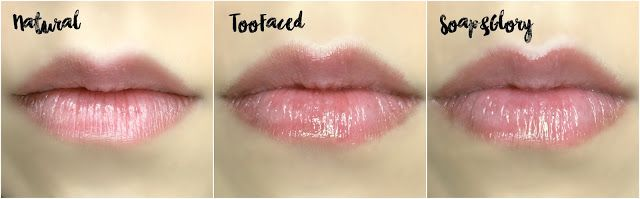 REVIEW: Too Faced Lip Injection Extreme VS Soap & Glory Sexy